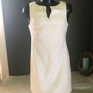 Trina Turk  white Embellished dress